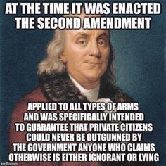 Know The Facts - The Amendment keeps the rest of the Constitution in place Political Quotes, Political Views, Political Topics, Great Quotes, Inspirational Quotes, Motivational, Gun Rights, Conservative Politics, 2nd Amendment