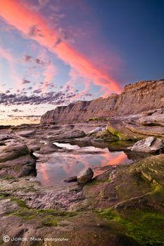 A day to remember by Jorge Maia, via 500px (Praia azul, Portugal)