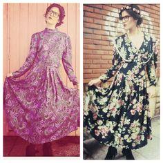 Flower Power !!! Floral Print Dress