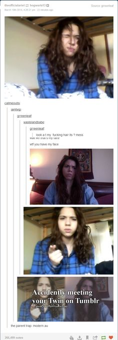 Tumblr Twins  - funny pictures #funnypictures