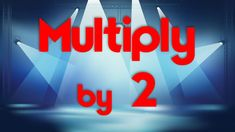 Multiply by 2 and learn the 2 times table. Multiply by with a techno beat. Learn the times tables by singing along with the multiplication fact the f. 4th Grade Math, Second Grade, 2 Times Table, Multiplication Songs, Jack Hartmann, Fun Songs, Math Notebooks, Homeschool Math, 2 In