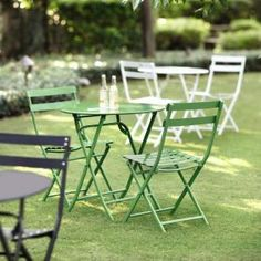 Home Decorators Collection, Follie Green Outdoor 3-Piece Patio Bistro Set, 1356810610 at The Home Depot - Mobile