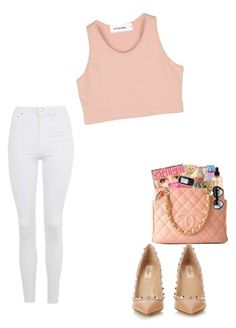 """""""Untitled #200"""" by aries25 ❤ liked on Polyvore featuring Valentino and Topshop"""