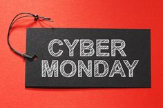 Pull out your phones and computers! #CyberMonday is here! Let us know what you plan to get in the comments below!