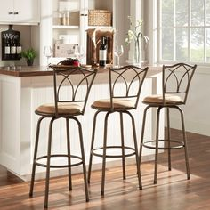 Counter Height Bar Stools Kitchen Counter Swivel Pub Seat Padded Inspiration Kitchen Counter Bar Stools 2018