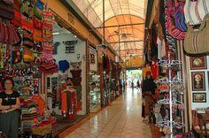 Indian market, Lima, Peru