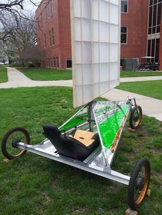 Uncle Glen's sail bike