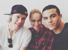 Jacob, Becca, and Chord. :)
