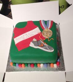 Great Picture of Runner Birthday Cake . Runner Birthday Cake Birthday Cake For A Runner Athlete Cakes Cake Birthday Cake Birthday Cake Pictures, 40th Birthday Cakes, 7th Birthday, Birthday Gifts, Fondant Cakes, Cupcake Cakes, Running Cake, Cheerleading Cake, Teen Cakes