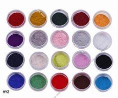 Velvet Flocking Powder For Velvet Manicure Nail Art Polish Tips no UV