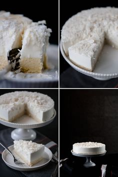 Yummy, but way too many steps..... I don't want to make it I just want to eat it!  cake_coconut_mousse_quad