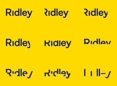 Ridley on Behance