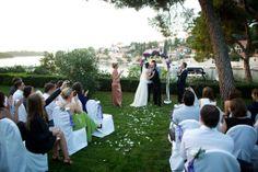 Real weddings Croatia: Solta Castle wedding #wedding #castle #island #Croatia
