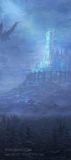 The Winter Citadel by *noahbradley on deviantART