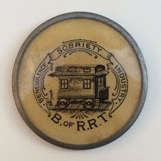 1911 BROTHERHOOD OF RAILROAD TRAINMEN REAL PHOTO POSTCARD RPPC RAILWAY UNION