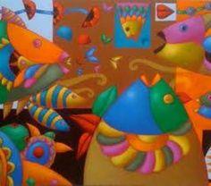 Xavier Portilla Medical Illustration, Fish Art, Folk, Diy Design, Decoupage, Dinosaur Stuffed Animal, Abstract Art, Concept, Diy Crafts