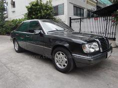 ขายรถเก๋ง MERCEDES-BENZ E-CLASS เมอร์เซเดส-เบนซ์ รถปี1992 สีดำ
