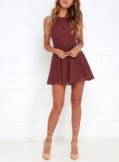 2016 Custom Charming Lace Homecoming Dress 9eb74ff0e