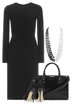 """""""Untitled #3029"""" by injie-anis ❤ liked on Polyvore featuring Dolce&Gabbana, Chanel, Lulu Guinness, Jimmy Choo, women's clothing, women, female, woman, misses and juniors"""
