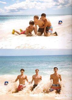 super junior hawaii eunhyuk, donghae, siwon