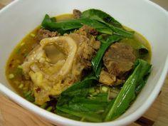 Vietnamese Style Bulalo (bone marrow)