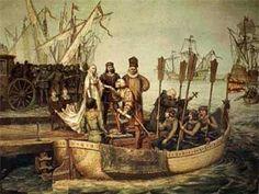 Cristóbal Colón. El descubrimiento
