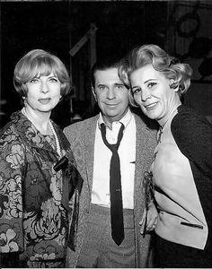 Angnes Moorehead, Morey Amsterdam, and Rose Marie.