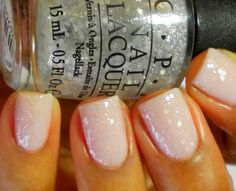 OPI Pirouette My Whistle over Care To Danse?