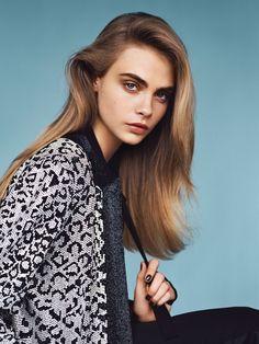 Cara Delevingne for Vogue UK January 2014 2
