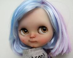 Custom Blythe Doll for Adoption by Shaylen Maxwell - available at http://etsy.me/2rcVyPW Check this week's dolls for adoption here: http://ift.tt/2lbVttq