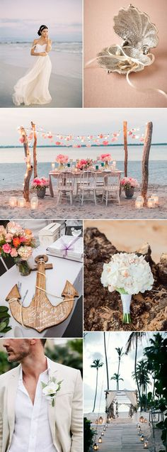 Tempted by a romantic beach wedding? Let us inspire you to go for a barefoot ceremony followed by an enchanting reception to the gentle sound of waves