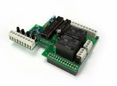 Raspberry Pi Face (PiFace) Digital Interface Expansion Board for Raspberry Pi.