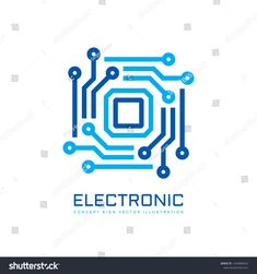 Electronic technology computer chip processor - concept business logo template vector illustration. CPU - creative logo. Digital network icon symbol. Graphic design element. Computer Logo, Computer Chip, Creative Logo, Icon Design, Logo Design, Graphic Design, Network Icon, App Logo, Vinyl Projects