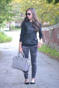 Camo Chic   The Wellesley Girl blog #fallfashion #thewellesleygirlblog #michaelkors #bananarepublic #loft