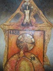 Bohuslav Vágner Strážce času Mix Media, Oil, Artist, Painting, Artists, Painting Art, Paintings, Painted Canvas, Drawings