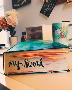 Coffee and Bible Time😍😘🤩🙏😍😘🤩🤩 Bible Notes, My Bible, Bible Art, Christian Life, Christian Quotes, Bibel Journal, Bible Doodling, Bible Study Journal, In Christ Alone