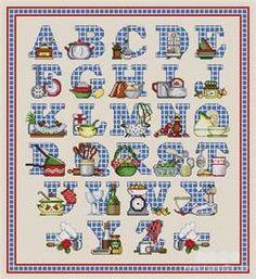 Free Cross Stitch Alphabet Patterns Online