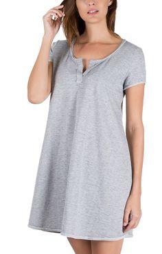 Z Supply The Tempo Dress in Heather Gray ZD155084HeatherGray