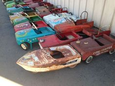 Huge Pedal Car Lot 115 Cars in Various Stages | eBay