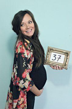 maternity - 37 week bumpdate