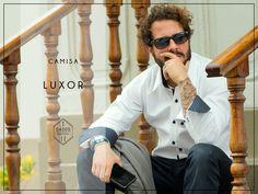 Camisa LUXOR 100% Algodón Pima Slim Fit Tallas: S - M - L  Encuéntrala en: -Showroom (previa cita) -Vernacula  +Delivery gratis a todo el Perú.
