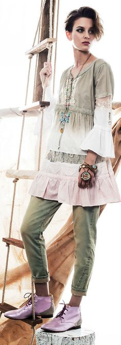 Elisa Cavaletti lookbook collection Spring/Summer