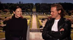 Interview with Arthur Kade - Outlander's Caitriona Balfe and Sam Heughan on Who Has Left Them Starstruck
