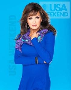 Marie in blue dress for USA shooting Donny Osmond, Marie Osmond, Star Pictures, Moving Pictures, Richard Thompson, Osmond Family, The Osmonds, Hollywood, Famous Women
