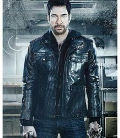 McDermott Dylan Leather Jacket for sale at Discounted Price $198.00 Get free shipping UK, USA and Canada. Freezer Robert Jacket in Black Color. #leatherjacket #jacket #womenjacket #bikerjacket #dylanmcdermott #freezer #robert #dylanjacket