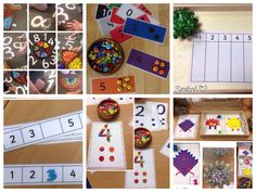 """A set of free maths printables to use with children in the early years from Rachel ("""",)"""
