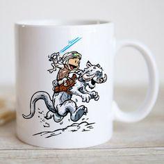 Parody Calvin and Hobs CALVIN AND HOTH Coffee Mug