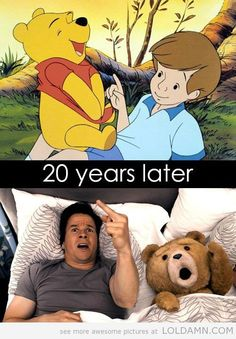 Pooh to Ted...LOL!