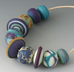 Bohemian Cool Waters from Outwest - love these colors!
