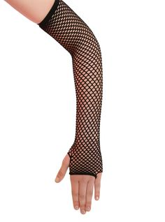 Because everyone needs at least one pair of fishnet gloves in their lives.